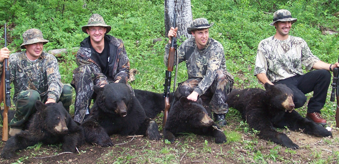 bear hunting trip quebec